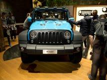 Jeep Wrangler in Genf 2017 Lizenzfreie Stockfotografie