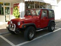 Jeep Wrangler 4.0 L in Puerto Banus Royalty Free Stock Photo