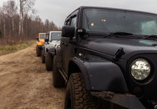Jeep Wrangler Rubicon Stockbilder