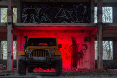 Jeep Wrangler Rubicon Lizenzfreie Stockfotos