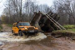 Jeep Wrangler Rubicon Stockbild