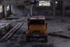 Jeep Wrangler Rubicon Lizenzfreie Stockfotografie
