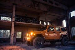 Jeep Wrangler Rubicon Lizenzfreie Stockbilder