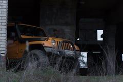 Jeep Wrangler Rubicon Lizenzfreies Stockbild