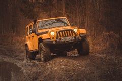 Jeep Wrangler Rubicon Lizenzfreies Stockfoto