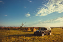 Jeep Wrangler Rubicon Stockfotos