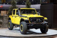 Jeep Wrangler Rubicon the annual International auto-show, February 9, 2019 in Chicago, IL