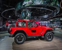 2018 Jeep Wrangler Rubicon, NAIAS Image stock