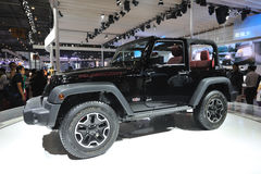 Jeep wrangler Rubicon Stock Photo