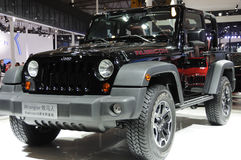 Jeep wrangler Rubicon Stock Photos