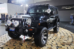 Jeep wrangler sahara Stock Images