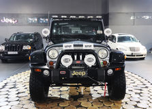 Jeep wrangler sahara Stock Photo
