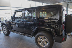 Jeep wrangler, sahara Royalty Free Stock Photos