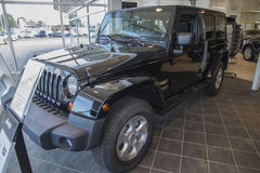 Jeep wrangler, sahara Stock Images