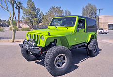 Jeep Wrangler Sport Stock Image