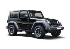 Jeep Wrangler sport Stock Photos