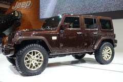 Jeep Wrangler Sundancer concept Royalty Free Stock Image
