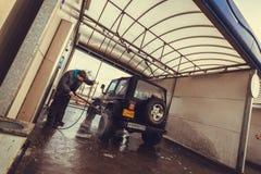 Jeep Wrangler tj Royalty Free Stock Image