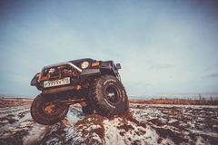 Jeep Wrangler tj Royalty Free Stock Image