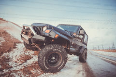 Jeep Wrangler tj Royalty Free Stock Images