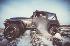 Jeep Wrangler tj Royalty Free Stock Photos