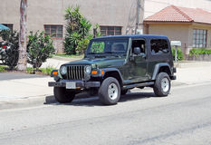 Jeep Wrangler Unlimited Imagens de Stock Royalty Free