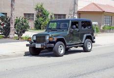 Jeep Wrangler Unlimited Royalty-vrije Stock Afbeeldingen