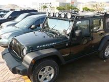 Jeep Wrangler Unlimited Imagens de Stock
