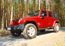 The Jeep Wrangler Stock Photo