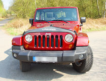 The Jeep Wrangler Royalty Free Stock Images