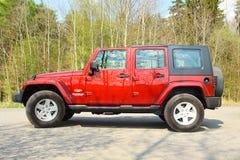 The Jeep Wrangler Stock Image