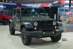 Jeep Wrangler Willys Wheeler Stock Photo