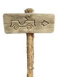 Jeep-Zeichen Stockbild