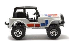 Jeepautospielzeug stockbild