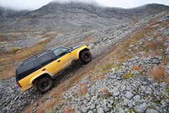 Jeeping Royalty Free Stock Photography