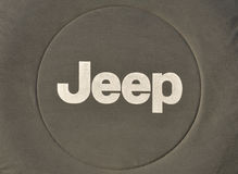 Jeeplogo Royaltyfria Bilder