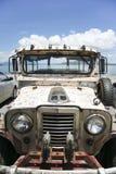 jeepney湖taal的菲律宾 免版税库存图片