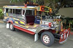 jeepney菲律宾 免版税库存图片