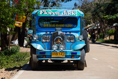 Jeepney,菲律宾。 免版税库存图片