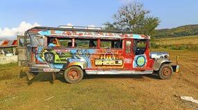 Jeepney Филиппин Стоковое Фото