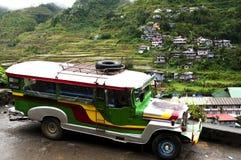 Jeepney -菲律宾 免版税库存照片
