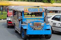 Jeepney Arkivfoton