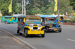 Jeepney Royalty Free Stock Photography