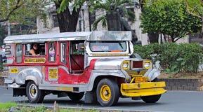Jeepney Royaltyfria Foton