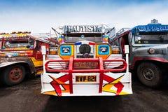 Jeepney Arkivbilder