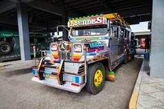 Jeepney Royaltyfri Fotografi
