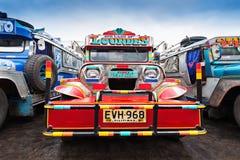 Jeepney Arkivbild