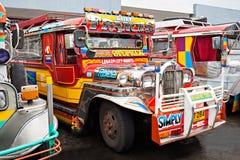 Jeepney Foto de Stock Royalty Free