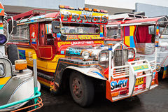 Jeepney Royaltyfri Foto