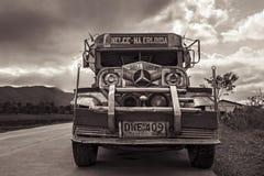 Jeepney 免版税库存图片